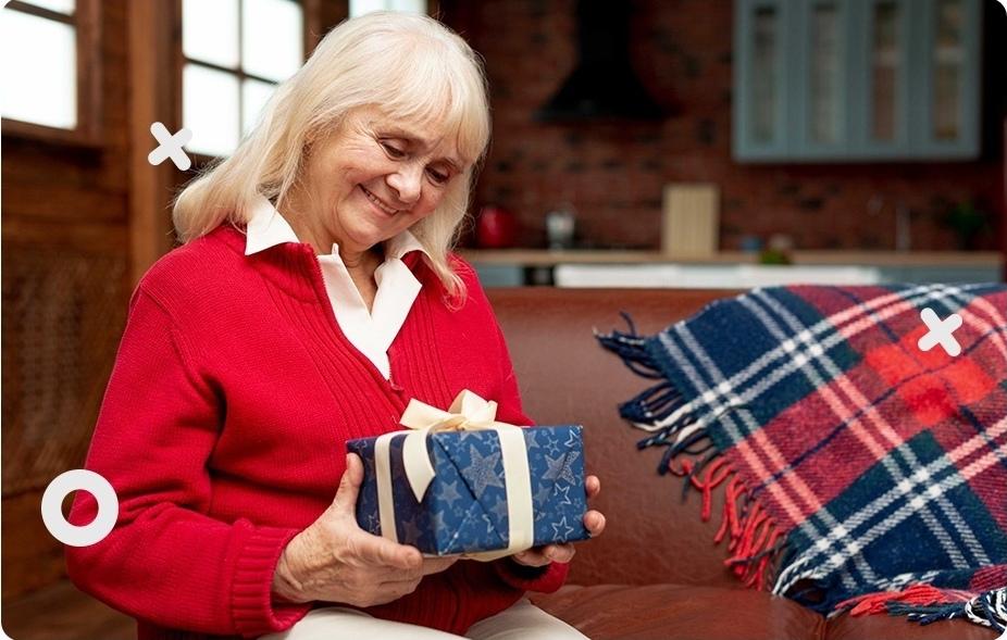 Сделай САМ подарок для пожилых