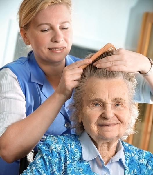 Подстричь пенсионерку на дому
