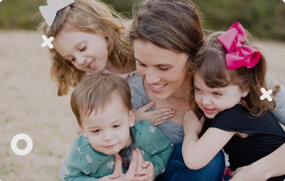 Помощь многодетной одинокой маме